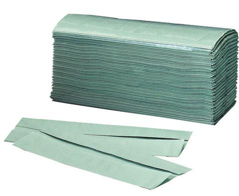 Einweg-Papierhandtuecher gruen 250 Stueck