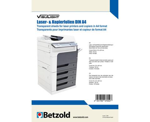 Visulight Kopier- und Laserfolien DIN A4-1