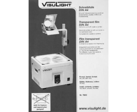 Schreibfolien DIN A4 - Karton m 100 St-2