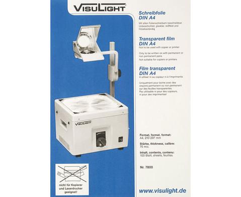 Schreibfolien DIN A4 - Karton m 100 St-1