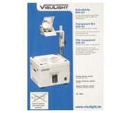 Schreibfolien DIN A4 - Karton m. 100 St.