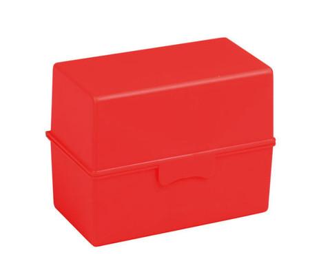 Karteiboxen DIN A6 in rot oder blau-6