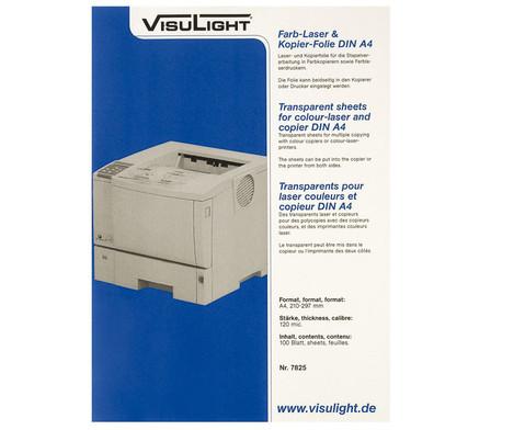 Visulight Farb-Laser- und Kopier-Folie - DIN A4-1