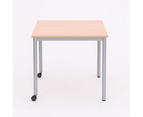 varimax quadrat tisch fahrbar h he 72 cm. Black Bedroom Furniture Sets. Home Design Ideas