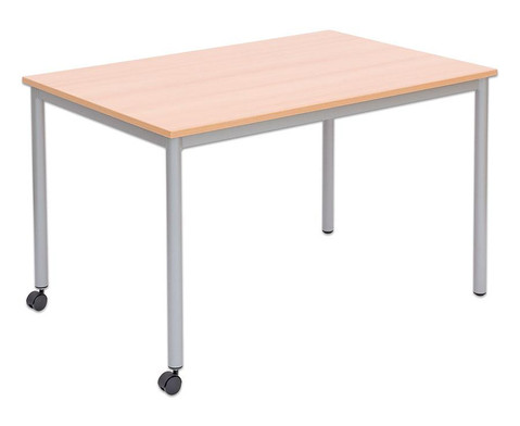 Varimax Rechteck-Tisch I fahrbar Hoehe 72 cm