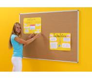 Korktafel mit Alu-Rahmen 100 x 150 cm