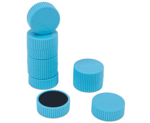 Kraftmagnete blau 10er Set