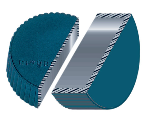 Kraftmagnete blau 10er-Set