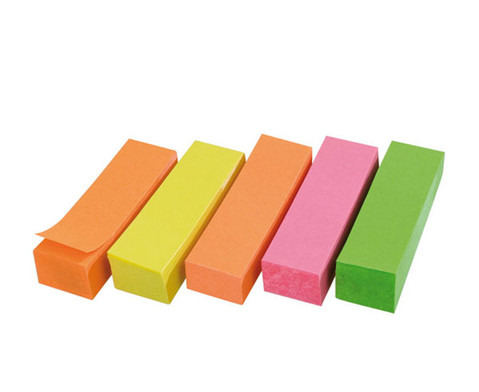 Haftstreifen neon 10 x 100 Blatt