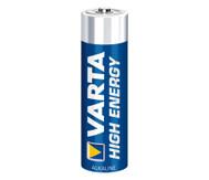 VARTA High Energy Mignon, 1,5 Volt, 4 Stück