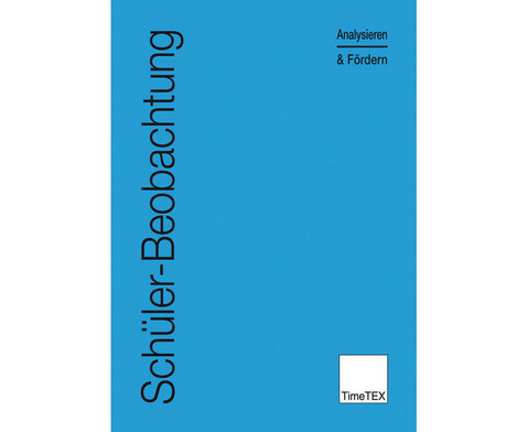 Heft Schueler-Beobachtung Analysieren  Foerdern-1