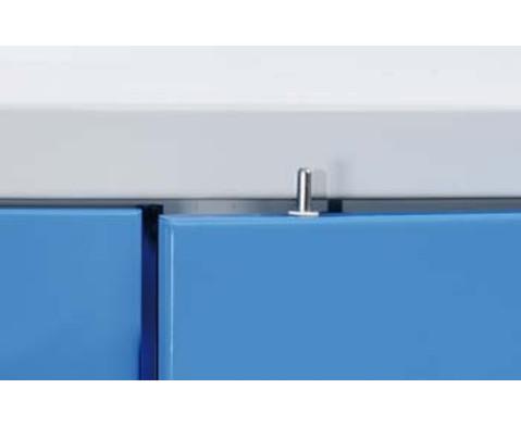 Stahlschrank A H x B x T 195 x 95 x 50 cm-3