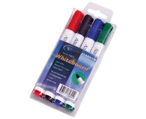 Whiteboard-Marker 4-Farben-Etui-1