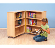Klapp-Bibliothek 167,5 cm hoch