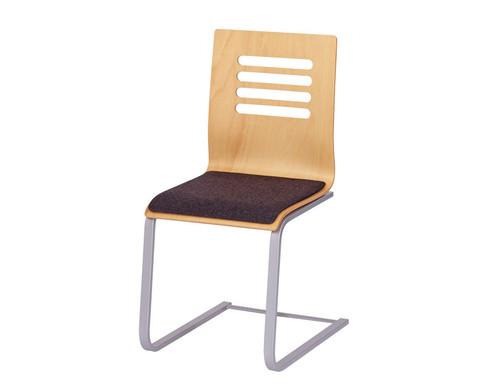 Betzold Schwingstuhl Design mit Sitzpolster