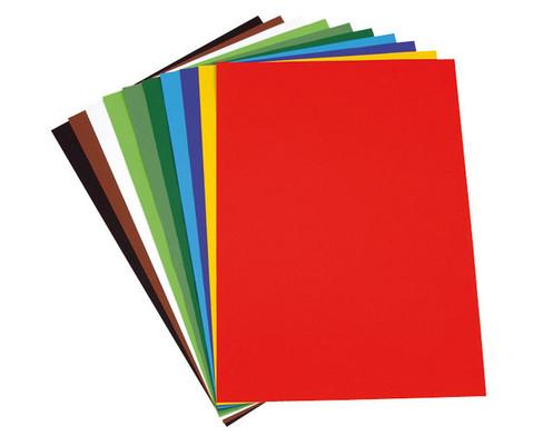 Fotokarton 100 Bogen 50 x 70 cm in 10 Farbtoenen-1