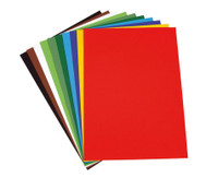 Fotokarton 100 Bogen, 50 x 70 cm, in 10 Farbtönen