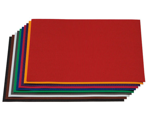 Bastelwellpappe 50 Bogen 50 x 70 cm in 10 Farben sortiert-2