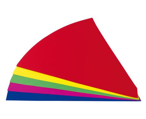 Fotokarton-Schultueten 10 Stueck farbig sortiert