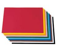 Tonzeichenpapier, 50 x 70 cm, 100 Bogen in 10 Farbtönen