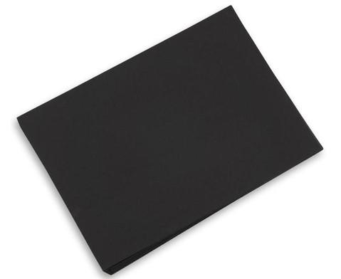 100 Bogen Tonpapier 50 x 70 cm schwarz