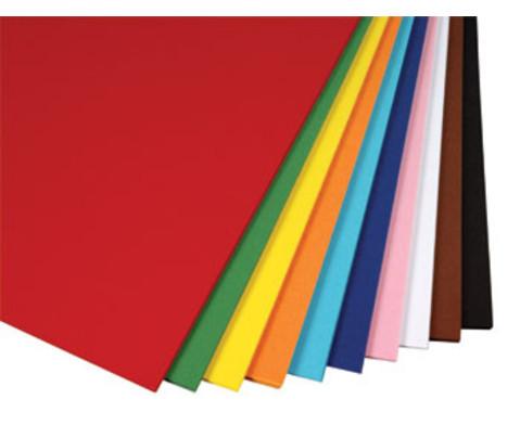 10 Bogen Tonzeichenpapier 130 g-m2 50 x 70 cm-2