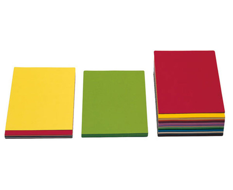 100 Blatt Tonzeichenpapier DIN A4