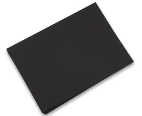 100 Bogen Fotokarton 50 x 70 cm schwarz