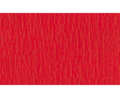 Krepp-Papier 10 Rollen in einer Farbe-5
