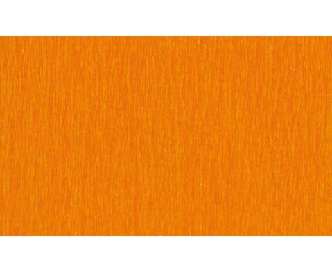 Krepp-Papier 10 Rollen in einer Farbe-7