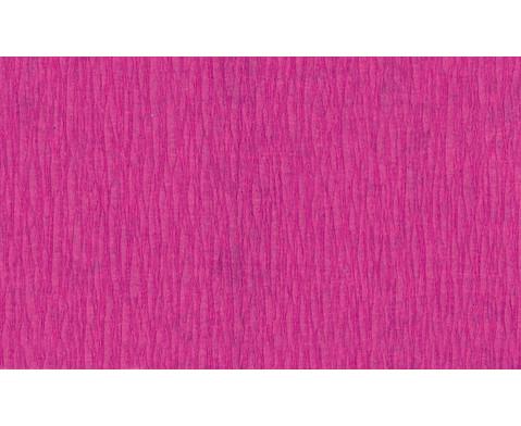 Krepp-Papier 10 Rollen in einer Farbe-11