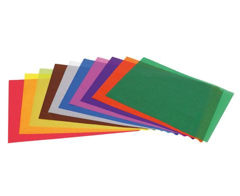 edumero Transparentpapier, 100 Bogen, 50 x 70 cm