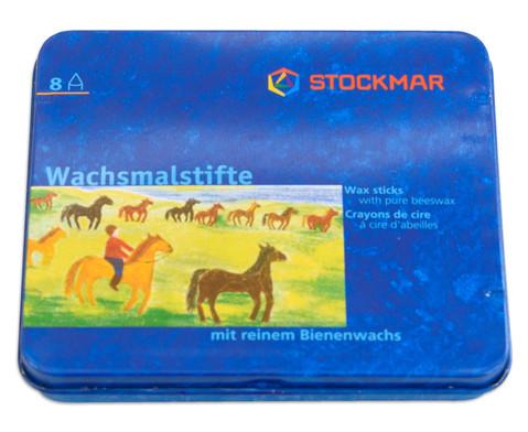 Farbstifte Stockmar Wachsfarben 8 Stueck-4