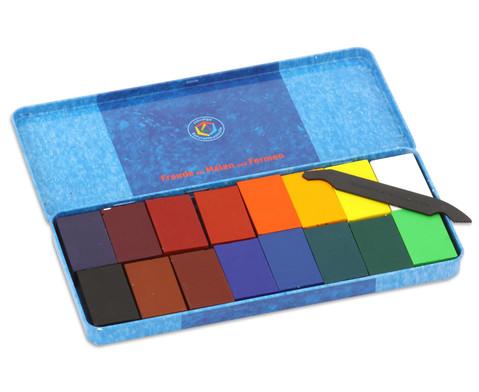 16 Farbbloecke Stockmar Wachsfarben