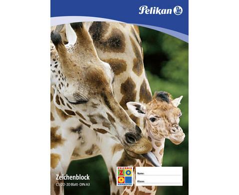 Pelikan-Zeichenblock DIN A3 20 Blatt-1