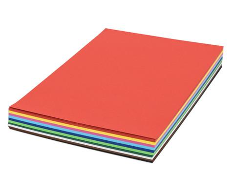 250 Bogen DIN A3 Tonzeichenkarton 160 g-m in 10 Farben