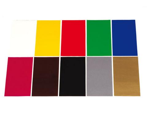 Verzierwachsfolie in 10 Farben-2