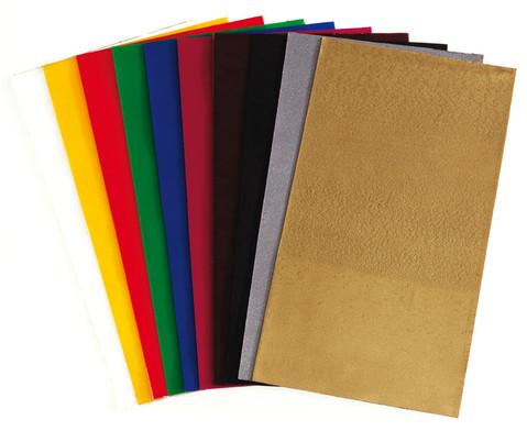 Verzierwachsfolie in 10 Farben