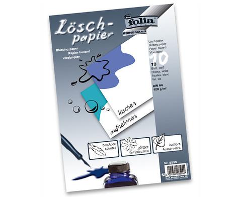 Loeschpapier Block  10 Bogen-1