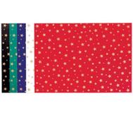 10 Bogen Sternchen-Fotokarton, 300g/m² in 5 Farben sortiert