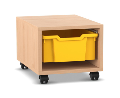 Flexeo Regal PRO 1 Reihe 1 grosse Box H x B x T 319 x 377 x 48 cm