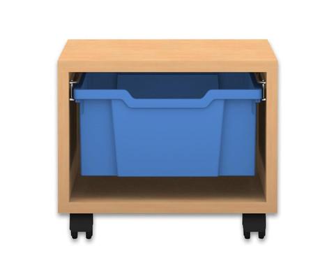 Flexeo Regal PRO 1 Reihe 1 grosse Box HxBxT 325 x 377 x 48 cm