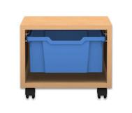 Flexeo Regal PRO, 1 Reihe, 1 große Box, HxBxT: 32,5 x 37,7 x 48 cm