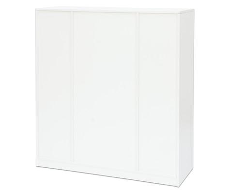 Flexeo Regal PRO 3 Reihen 12 grosse Boxen mittig 3 Fachboeden HxBxT 1439 x 134 x 48 cm-5