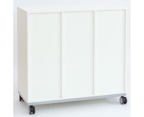 Flexeo Regal Pro mit Stahlrahmen 3 Reihen 12 Boxen-2