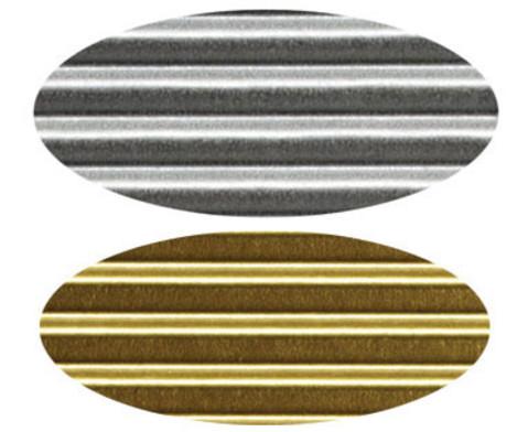 Bastelwellpappe gold und silber-3