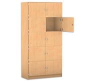 Flexeo Schließfachschrank, 10 geschlossene Fächer, HxB: 190 x 94,4 cm