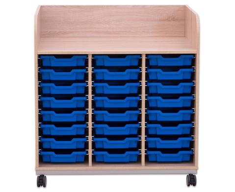 Flexeo Wickelkommode mit 24 kleinen Boxen-2