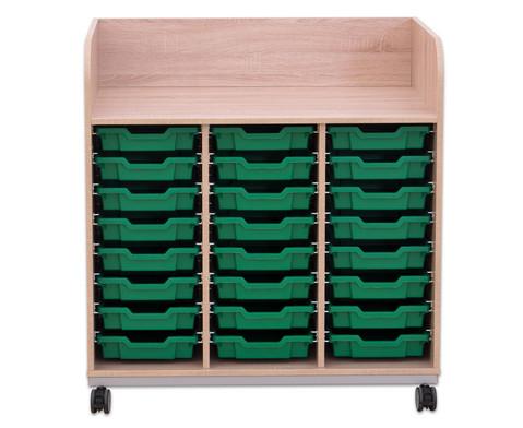 Flexeo Wickelkommode mit 24 kleinen Boxen-3