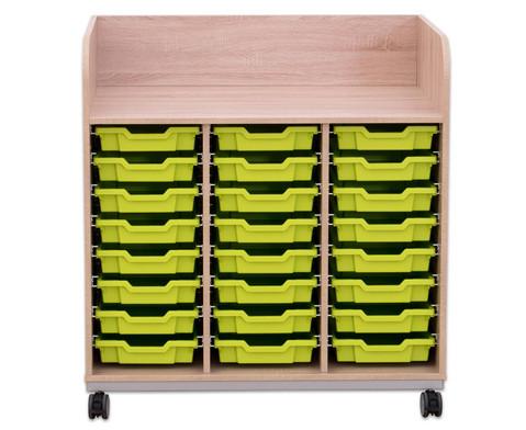 Flexeo Wickelkommode mit 24 kleinen Boxen-4